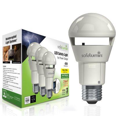 3 pack led light bulbs